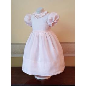 Vestido Importado Nena Bautismo, Fiesta, 2-3 Años, Usa