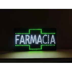 Anuncio Luminoso De Led Farmacia - Hecho En México- Letrero