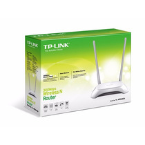 Kit 10 Roteadores Tp-link Wireless Tl-wr 840n 2 Antenas