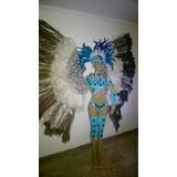 Fantasia Carnaval Passista Com Costeiro