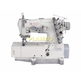 Máquina De Costura Galoneira Colarete Industrial Singer 522d