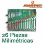 Juego De Llaves Combinadas Milimetricas 26 Piezas Jonnesway