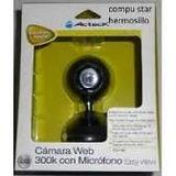 Camara Web 300k Con Microfono Negra Acteck Cw-760