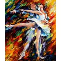 Romeo And Juliet - Pintura Óleo Maestro Leonid Afremov