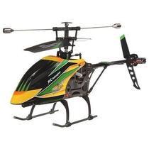 Helicóptero Aluminio De Controle Remoto V912 4 Canais 2.4ghz