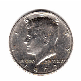 Estados Unidos Usa Half Dollar Año 1972 Km#202b