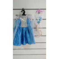 Disfraz De Frozen Elsa Bebe Nuevo Original Carnavalito