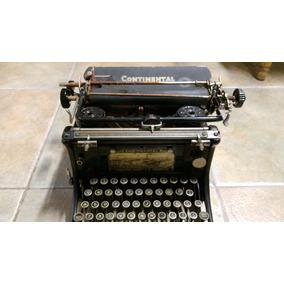 Maquina De Escribir Antigua Continental Wanderer - Werke