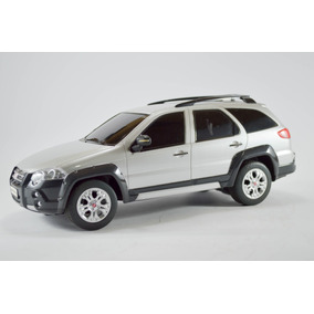 Fiat Palio Weekend Adventure Prata 1:18 Seminovo R/c