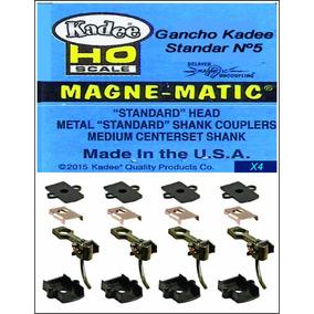 Gancho Kadee Nº5 Standar Mandíbula Nuevo X4+cajas+resortes