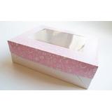 Cajas Para Desayunos O Tortas Rectangulares (x 50 Unidades)