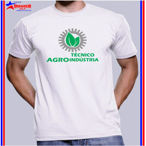 Camisa Camiseta Masculinafeminin Curso Técnico Agroindustria