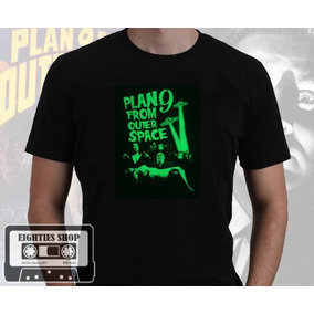 Camiseta Plan 9 From Outer Space Ed Wood Sci-fi Terror