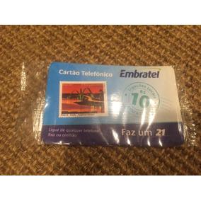Cartão Telefônico - Pré Pago, Embratel, R$ 10,00