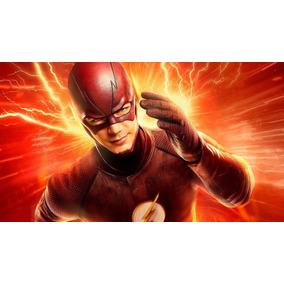 Adesivo Vinil The Flash Personalizamos Nome 130x90 Cm