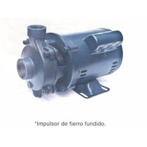 Bomba Para Agua 1 Hp Orange Pumps Cabezal De Hierro