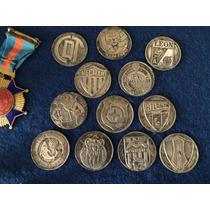 Coleccion 12 Monedas Plata Campeonato De Futbol 67 68