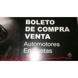 Boleto De Compra Venta Y Boleto De R. Civil,lote De 25u. C.u
