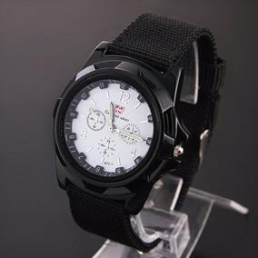 Relógio Masculino Estilo Militar Suíço Nylon Frete Grátis