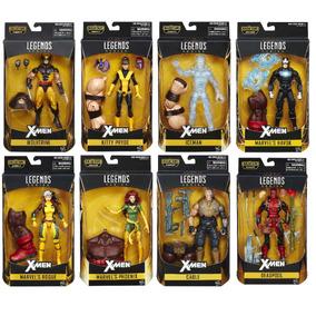 Coleção Marvel Legends 8 Bonecos X-men + Juggernaut - No Br