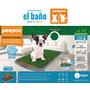 Bandeja Sanitaria, Baño Perros Peepoo ® + Acces. Perro Macho