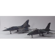 Avião Combate Jato Guerra Amx A-1 + Mirage 2000 1/72