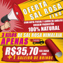 Sal Rosa Himalaia Gourmet Fino 3kg+laudo+nf+saleiro Brinde