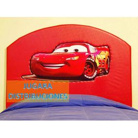 Cars Cabecera Infantil Acoginada Con Repujado