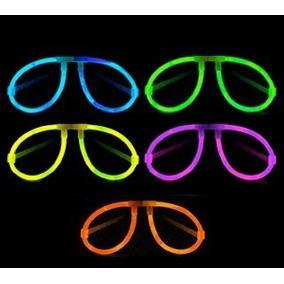 10 Lentes Glow, Fluorescentes, Para Fiesta Y Eventos