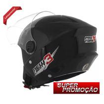 Capacete Aberto De Moto Pro Tork New Liberty 3 Preto Barato