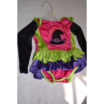 Disfraz De Niña Bebe Bruja12-18 Meses Hallowen