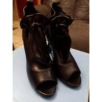 Hermosos Zapatos Marca Julio Color Negro Talla 24 ¡oferta!