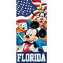 Toalla De Disney Mickey, Donald Goofy