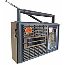 Radio Portatil Am E Fm Cnn 966 Entrada Para Fone De Ouvido