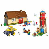 Brinquedo De Montar Fazenda Sede Tanque De Água 590 Peças