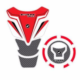 Protetor Tank Pad Top Tanque Bocal Moto Honda Cg Fan 160 M02
