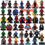 20 Figuras Super Heroes Marvel Dc