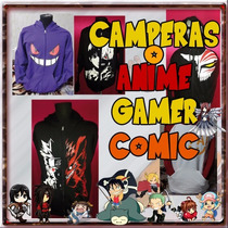 Camperas De Anime, Gamer, Comic!! Mira El Catalogo!!!