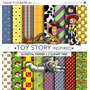 Kit Imprimible Pack Fondos Toy Story Clipart 88