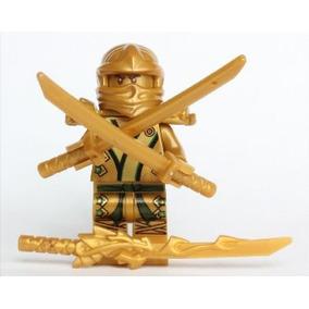 Juguete Lego Ninjago - El Ninja Gold Con 3 Armas