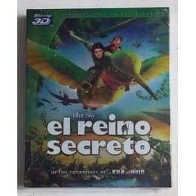 Bluray 3d El Reino Secreto Epic 3 Discos Nuevo Infantil