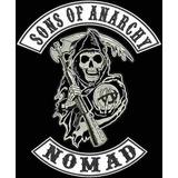 Bordado Termocolante Sons Of Anarchy Nomad Patch Moto