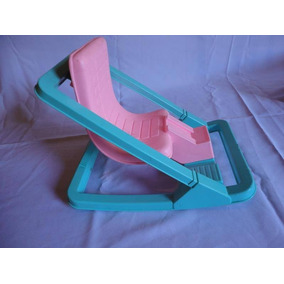Cadeira Balanço Antiga Boneca Da Estrela