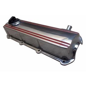 Tampa Válvula Motor Ap Cromada Aluminio Polido Filtro Grátis