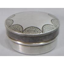 Cofre Alhajero Antiguo De Metal Plata Lappas 9 Ind Argentina