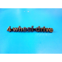 Emblema 4 Wheel Drive Jeep Grand Wagoneer Doble Tracción 4x4