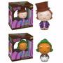 A Fantástica Fábica De Chocolate - 2 Figuras - Dorbz Funko