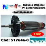 Induzido Original P/esmerilhadeira Ga 4530 110v Makita