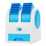 Mini Ventilador Climatizador Com Agua Portatil Ar Usb Calor