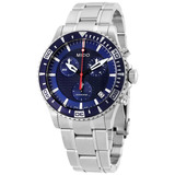 Relógio Mido Ocean Star M0114171104102 Cronografo Blue Dial